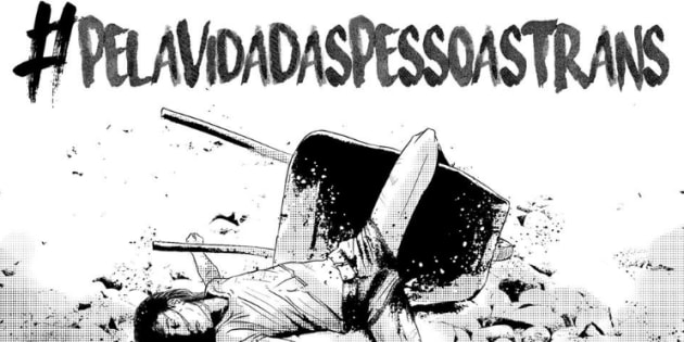 Campanha  #PelaVidaDasPessoasTrans