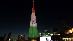 Burj Khalifa Gets A Tri-Colour Makeover To Celebrate India's 68th Republic