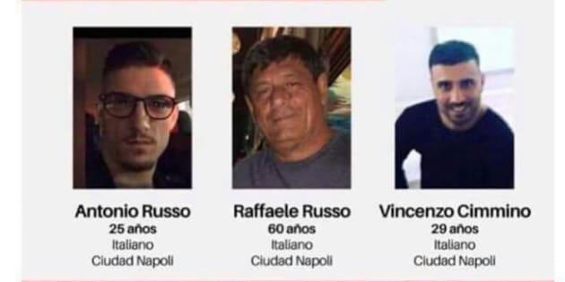 Familiares de italianos desparecidos ofrecen 2 mdp de recompensa por localizarlos