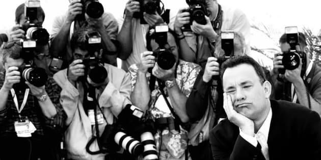 """""""Devant ma caméra 21 ans de suite, Tom Hanks qui fait le pitre et David Lynch qui fait une pause"""""""