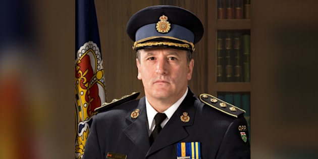 Brad Blair has been fired from his role as deputy commissioner of the Ontario Provincial Police.