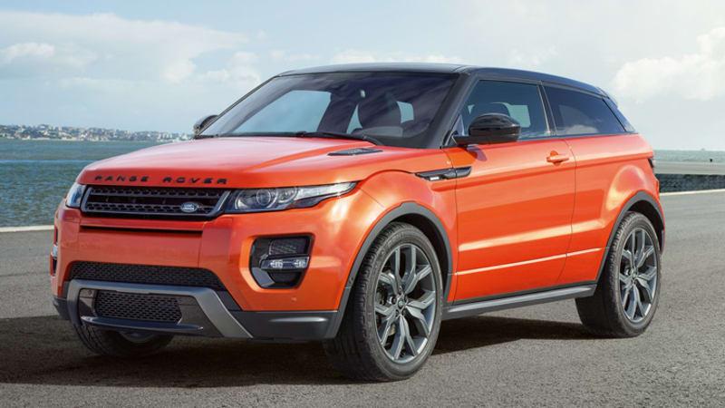 Land Rover Plotting High Performance Disco Sport Evoque