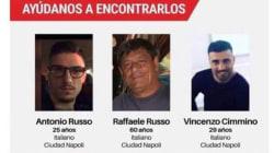 Familiares de italianos desaparecidos en Jalisco, ofrecen recompensa de 2