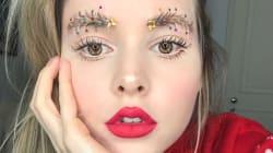 Les sourcils sapin de Noël, la nouvelle lubie
