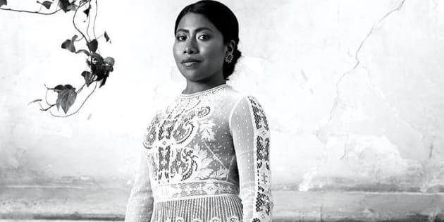 Yalitza Aparicio para la revista Vogue México.