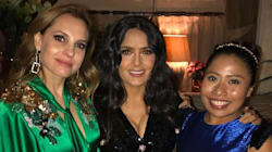Girl power! Salma Hayek, Marina de Tavira y Yalitza Aparicio