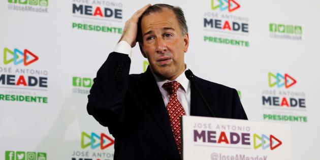 En realidad, durante el tercer debate presidencial Meade habló de lo proyectado como gasto para el final del sexenio.