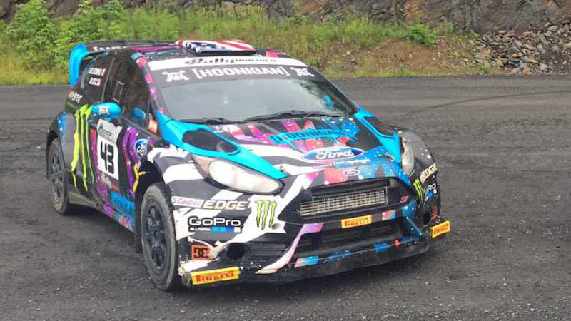 Ford Fiesta Rally Car >> Buy Ken Block S Fiesta Rally Car And Hoon Your Heart Out Autoblog