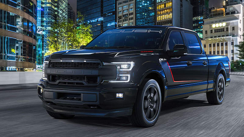 roush welcomes the 650 hp 2018 f 150 nitemare autoblog. Black Bedroom Furniture Sets. Home Design Ideas