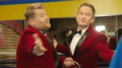 James Corden And Neil Patrick Harris Make Singing Telegrams Cool