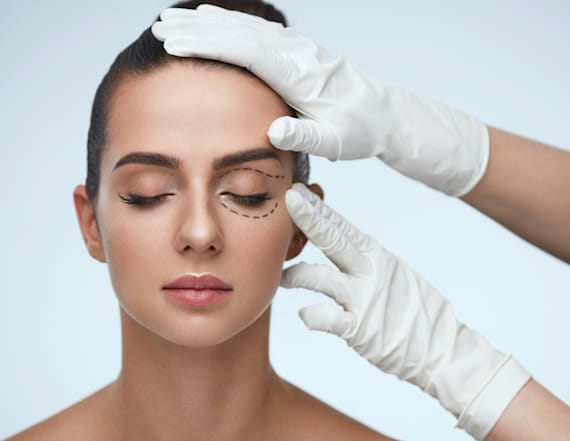 Get a mini eye lift sans the needles with this item