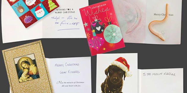 Bigots are now sending bacon to muslims in christmas cards lebanese muslim association m4hsunfo
