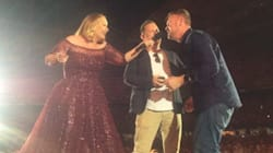 A Man Proposed To His Boyfriend On Stage At Adele's Final Melbourne