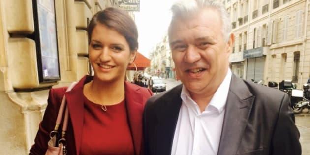 La ministre Marlène Schiappa a posté une photo de son père en répondant à ses critiques sur une citation de Marx.