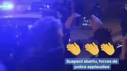 La police applaudie après avoir abattu Chérif
