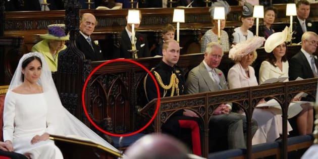 La sedia libera al royal wedding non era per Diana, ma per l