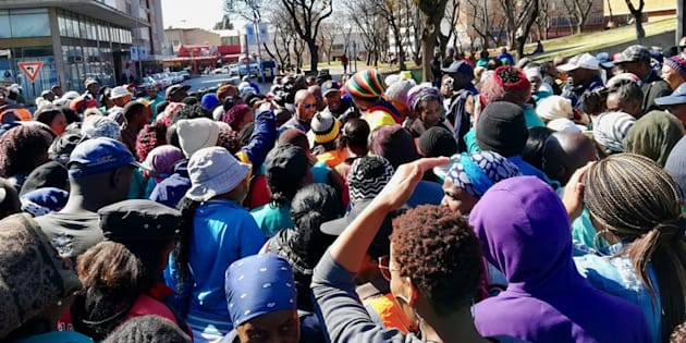 About 200 former workers for the municipality picketed outside the Civic Centre in Germiston on Thursday morning. They are demanding that Ekurhuleni Municipality make them permanent employees.