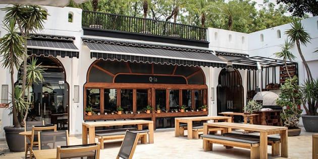 We Found The Prettiest Outdoor Restaurants In Delhi For