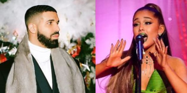 Drizzy and Ariana are Spotify A-listers, if you will.