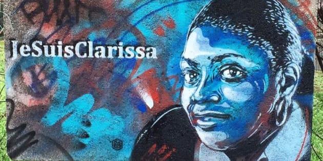 L'artiste graffeur C215 rend hommage aux victimes des attentats de janvier 2015
