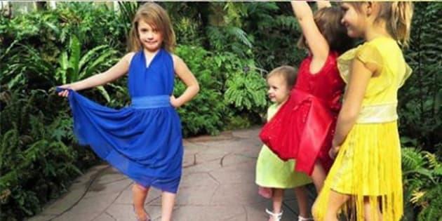 As crianças Sophia, de 6 anos; Sadie, de 4; e Sloan, de apenas 1 ganharam o coração da internet com suas poses expressivas e montagens que imitam os sucessos de Hollywood.