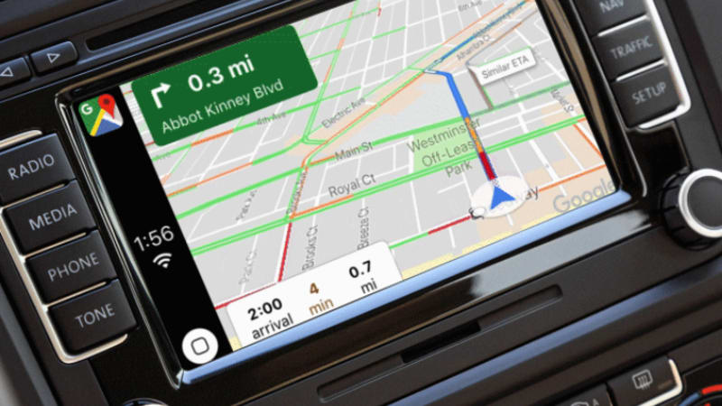 Apple CarPlay gains Google Maps capability with update | Autoblog