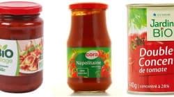 Sucres, sel, pesticides: les meilleures sauces tomates vendues en
