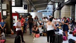 Hulot et Borne lancent une enquête sur l'alimentation de Montparnasse, l'électricité pas rétablie à 100% avant