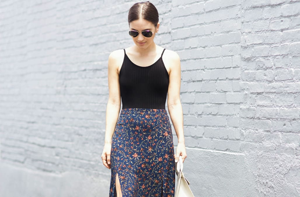 658a688bdf0 Street style tip of the day  The summer skirt - AOL Lifestyle