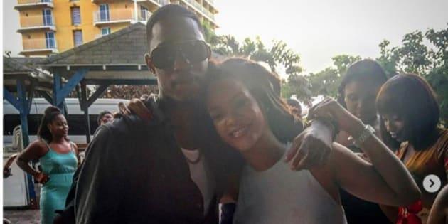 Son cousin tué par balle — Rihanna