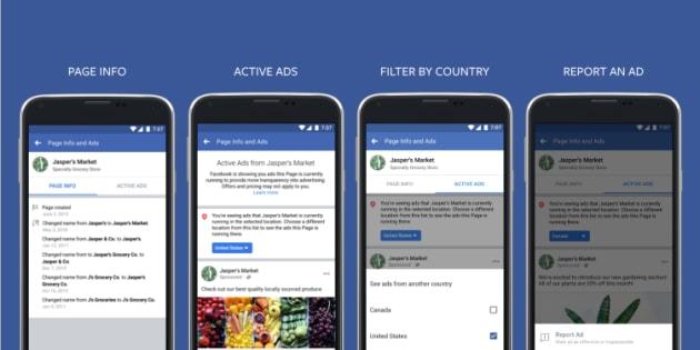 Ahora los usuarios de la plataforma podrán saber el origen de los anuncios publicitarios.