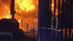 L'hélicoptère du patron du club de Leicester s'écrase près du