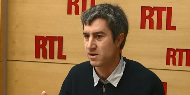 François Ruffin au micro de RTL mardi 30 janvier.