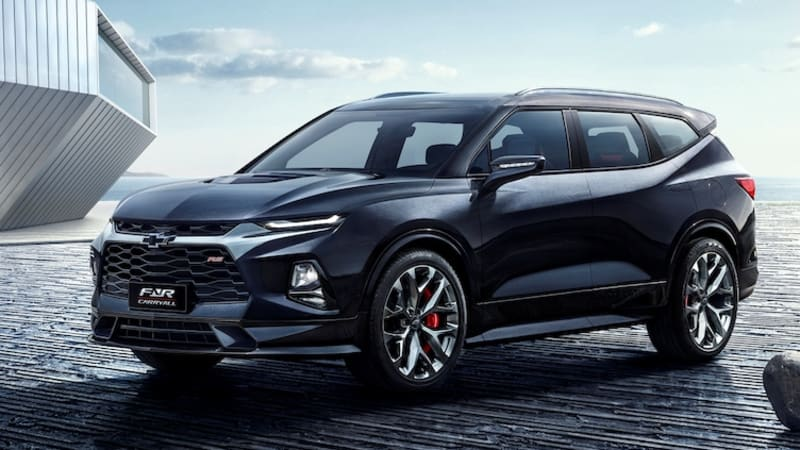 Chevrolet Blazer Xl Three Row Suv Reportedly In The Works For China