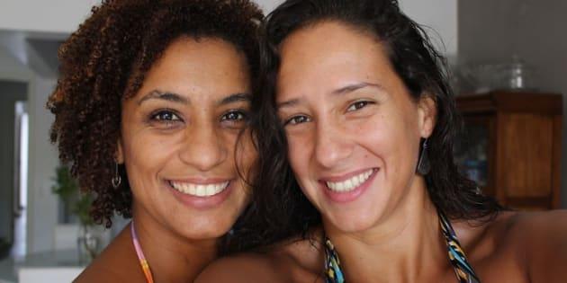 Foto do arquivo pessoal de Mônica, divulgada no vídeo da Anistia Internacional.