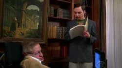 El día que Sheldon Cooper conoció a Stephen