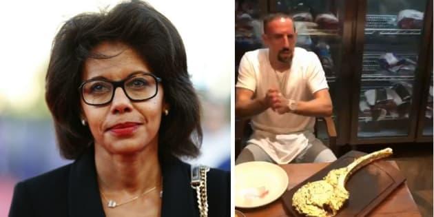 """Pulvar critique l'entrecôte de Ribéry, il lui renvoie """"ses lunettes en écailles à 3000 euros"""" à la figure"""