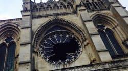La rosace de la cathédrale de Soissons