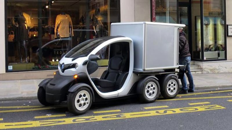 Renault Twizy Delivery Concept Revealed On Twitter Autoblog