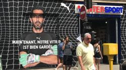 La réponse parfaite d'Intersport aux supporters du PSG qui ont saccagé la vitrine aux couleurs de