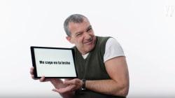 Antonio Banderas explica qué significa