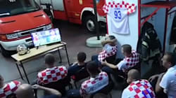 #VIDEO: Para estos bomberos de Croacia más vale salvar una vida que ver un