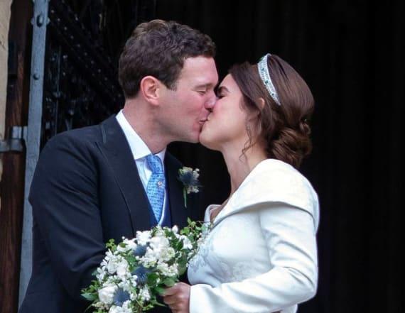 Princess Eugenie didn't wear a veil at her wedding