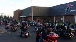 50 motards accompagnent un enfant victime de harcèlement