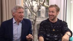 Cette entrevue avec Ryan Gosling et Harrison Ford tourne à l'hilarité