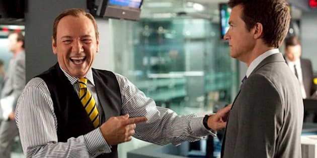 If your boss is anything like Kevin Spacey in Horrible Bosses, quit.