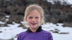 À 7 ans, elle devient la plus jeune personne à atteindre le sommet du