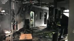 L'incendie à France Bleu Isère revendiqué sur un site