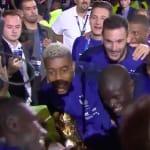 N'Golo Kanté se souviendra longtemps de la présentation de la Coupe du monde au Stade de