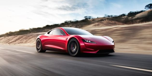 Quasiment 1 000 km d'autonomie — Tesla Roadster